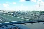 BNSF yard looking towards Mexico