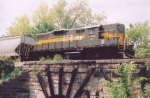 ADBF 1752 crosses LSMS 1867 Bridge