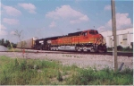 BNSF nears the ex-Wabash depot