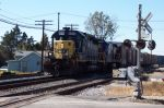 CSX 8209 Struggles on