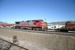 BNSF Warbonnet Unit sits at Summit