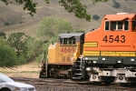 BNSF and UP side by side