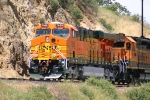 BNSF GEVO on DPU Service out of Tunnel 1