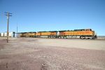 BNSF 4650 leads an intermodal passed