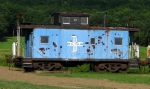 Boston & Maine Caboose #458