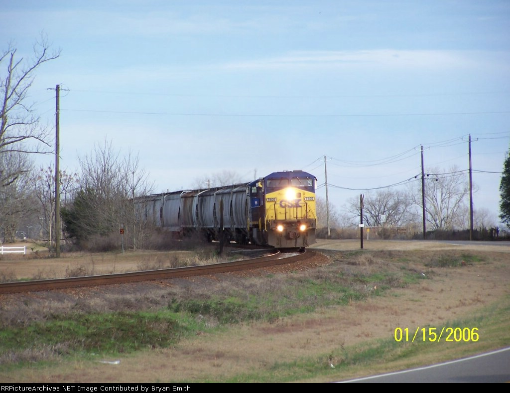 CSX northbound local
