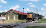 CSX Northbound passes depot