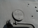 #487's builder's plate