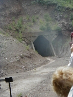 Exiting Mud Tunnel.