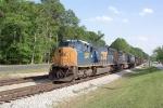 CSX 4824 on N122 heading north