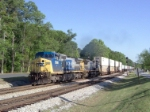 CSX 7900 on Q124 heading north