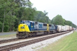 CSX 8784 on Q124 heading north