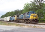 CSX 9036 on Q141 heading south