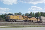 UP 5271 on Q192 waiting to enter Fairburn Intermodal