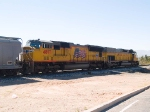 UP 4897 #2 power in local WB manifest at 10:42am