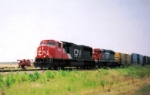 Northbound Manifest With CN and GTW Locomotives