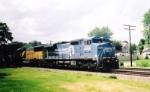 Eastbound BNSF Intermodal Train With Ex-CR NS 8435