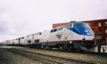 Eastbound Amtrak Southwest Chief Train #4