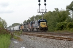 csx hlcx mpi and up a rainbow of power heads toward frontier and the next crew change