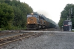 empty somerset coal train heads back to the mine (old uns cr train)