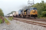 The newer GE's are getting alot of the intermodal traffic on the water level route