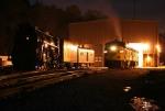 NKP 765 & CVSR 6777 at the Nighttime Photo Shoot