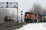 CN 2436 exits the Westhore at CP382