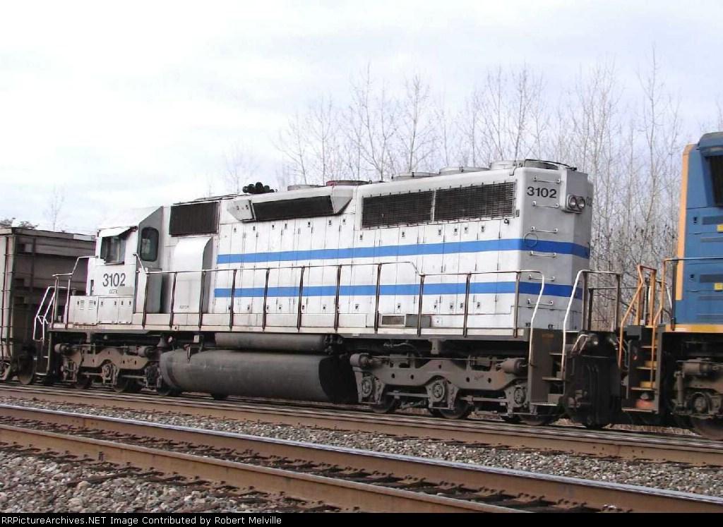 Alstom SD40-2 at CP382