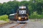 NS/M&E Inspection Train in Washington Yard