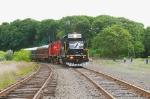 Inspection train in Washington Yard