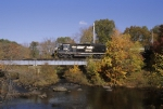PRR 3051 crossing the Rockaway River