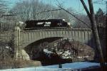 PRR 5354 crossing the bridge