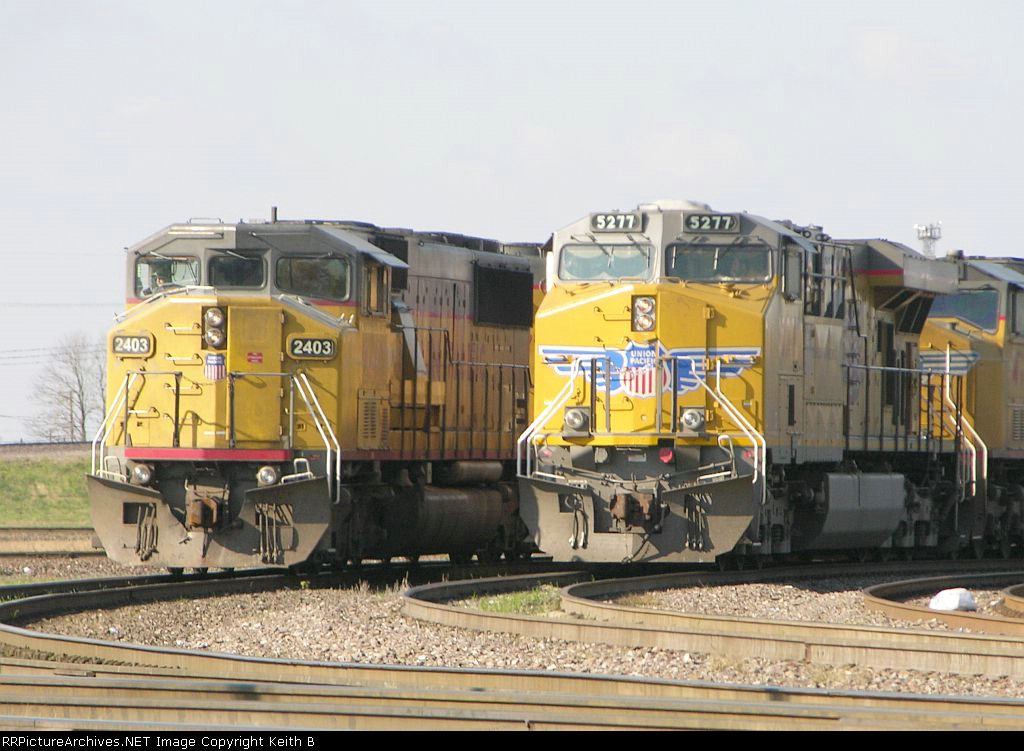 UP 2403 and 5277
