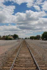 Union Pacific Railroad Mainline Track looking East
