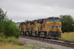 Southbound Union Pacific Railroad (UP) Unit Grain Train