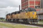 Union Pacific Railroad (UP) EMD GP60's No. 2075, No. 1922 and No. 1942