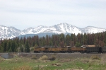 Union Pacific Railroad GE AC44CW's No. 6436, No. 7241 and No. 6666