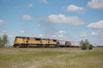 Union Pacific Railroad (UP) Unit Grain Train