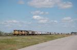 Union Pacific Railroad Unit Grain Train