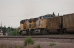 Going away shot of a Westbound Union Pacific Railroad Empty Unit Coal Train