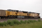 Union Pacific Railroad (UP) EMD SD9043MAC No. 8064 and GE AC4460CW No. 7370