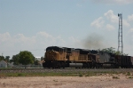 Westbound Union Pacific Railroad Empty Unit Coal Train