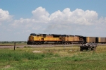 Union Pacific Railroad (UP) EMD SD9043MAC No. 8077 and GE AC44CW No. 6517
