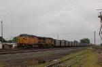 Eastbound Union Pacific Railroad Unit Coal Train