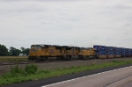 Eastbound Union Pacific Railroad Container Train