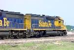 9-6-05 BNSF 6464 in Timber Rock Yard