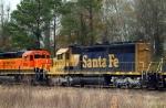 BNSF 7950 (Former NSF#6485 SD45-2 Santa Fe)