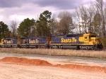 BNSF 6469 With BNSF 7508 B Unit