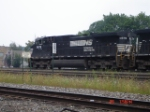 NS 9676 leads NS Train 20V past MP 251 & the Engine House Limits EB