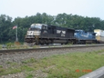 NS 2613 & NS 8312 head WB w/NS Train 10G